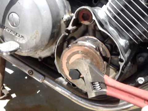 Honda Nighthawk Wiring Diagram 1980 Honda Cb750 Alternator Rotor Replacement Youtube