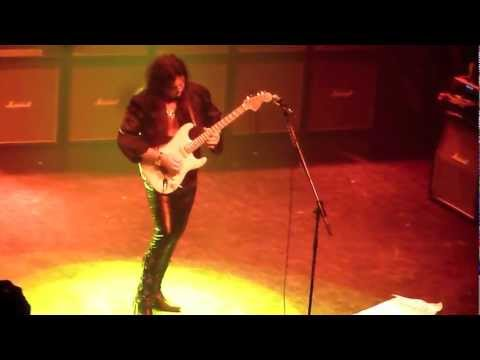 Yngwie Malmsteen Live  Classical Rock Guitar Magickal in Montreal 2011