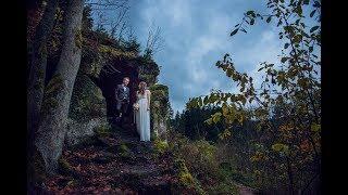 Прекрасная Свадьба в Чехии в Замке Грубая Скала: Свадьба за границей