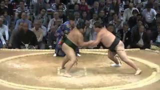平成25年十一月場所初日 sumo 大相撲 九州場所.