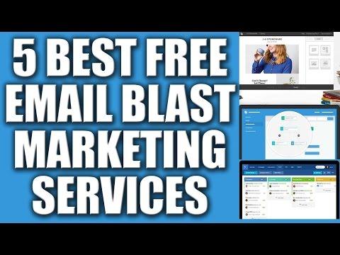 5 Best Free Email Blast Marketing Services Provider 2016 - Automated Email Marketing Services