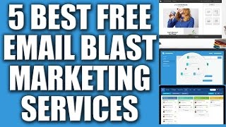5 Best Free Email Blast Marketing Services Provider 2016 - Automated Email Marketing Services