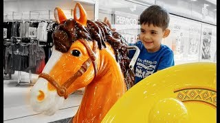 Little Pony Ride on - Yankee Doodle Token Ride for Kids- Juguetes Para Ninos