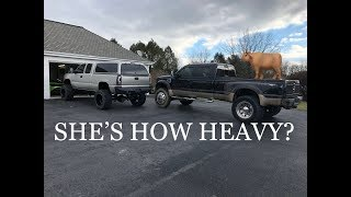 STREETSPEED717 WANTS TO RACE MY HOW HEAVY WORK TRUCK??