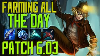 ◄ Farming all the Day ► Patch 6.3 - Normal Game Madness - Ezreal Gameplay [German/HD/S6]