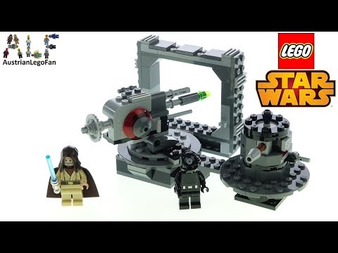 LEGO Star Wars 75246 Death Star Cannon - Lego Speed Build Review