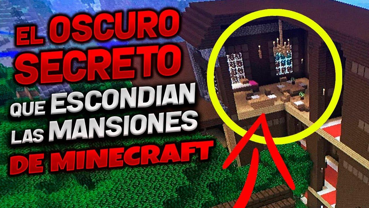 El OSCURO SECRETO de la Mansión de Minecraft [ DESCUBIERTO CUATRO AÑOS DESPUES QUE SALIERON ]