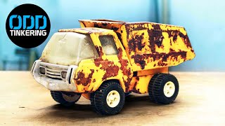 1970s Tonka Dump Truck - Toy Car Restoration