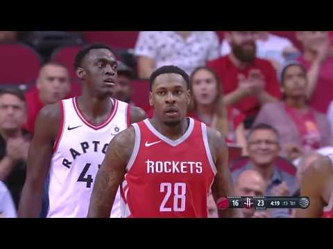 Toronto Raptors vs. Houston Rockets - November 14, 2017