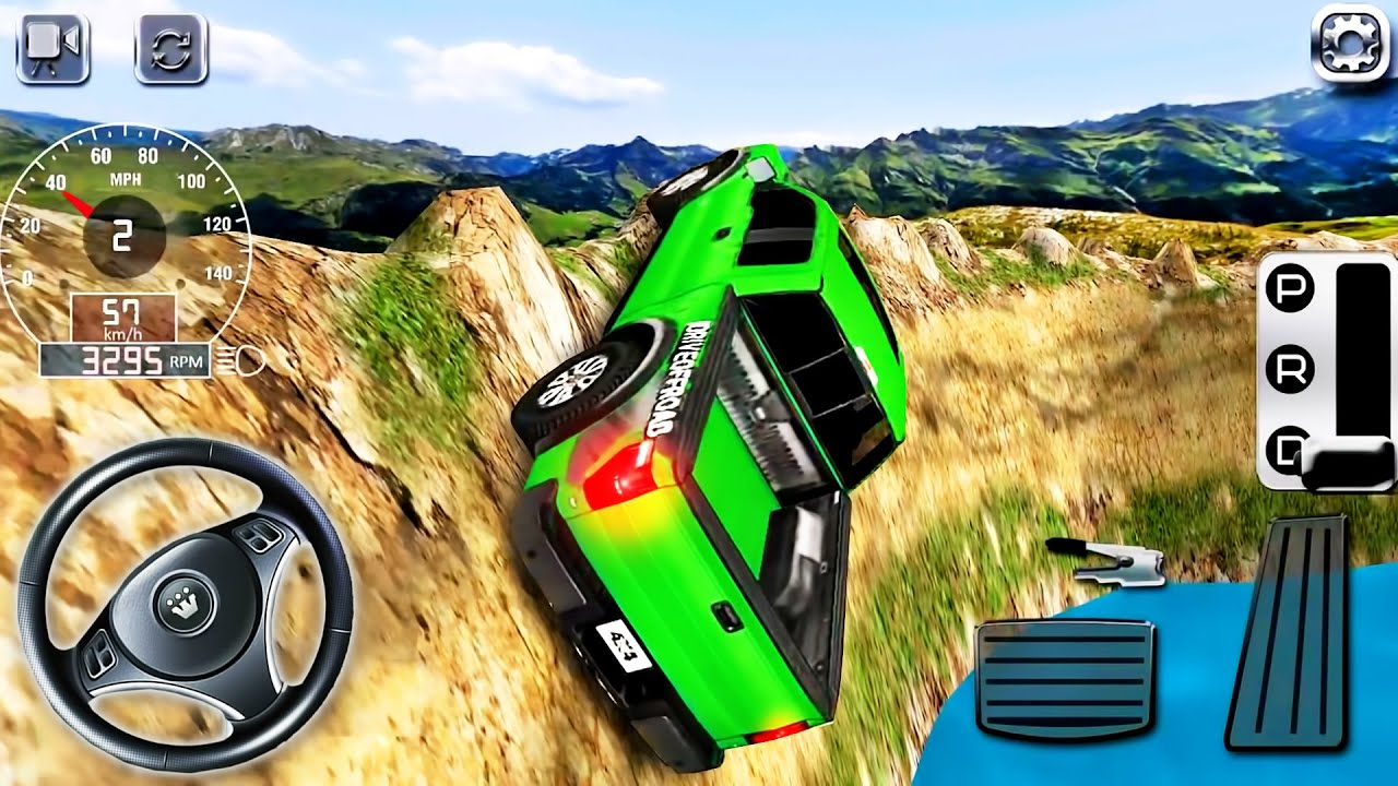 4x4 Off-Road Rally 7 Simulator #3 - Extreme Jeep SUV Hill Climbing Driver - Android GamePlay