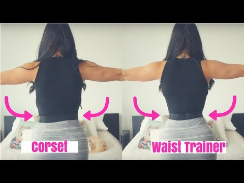 Waist Trainer vs. Corset Under Clothing - Which Works Better? Which shows less under clothing?