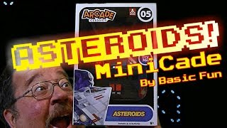 Asteroids MiniCade by Basic Fun!