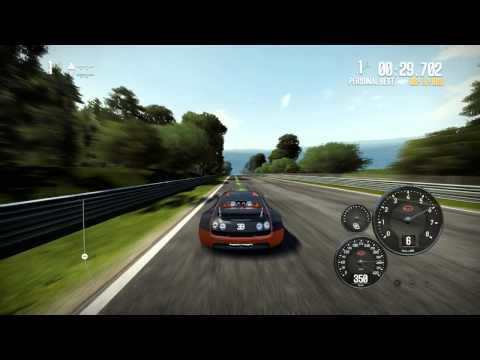 NFS Shift 2 Unleashed: 455 kmh Works Bugatti Veyron Supersport 16.4 [HD]