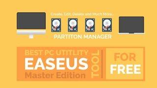 EaseUs Partition Master 12.5 Setup + Crack Master Edition | Free Download