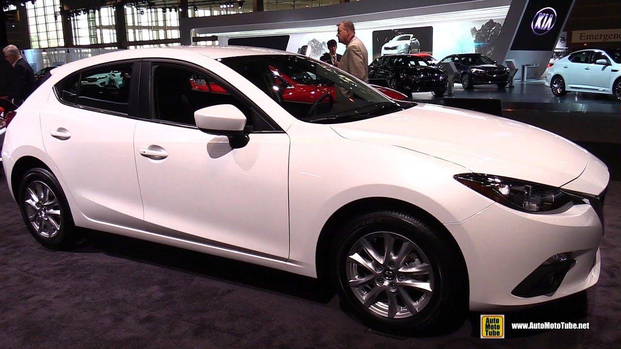 2015 Mazda 3 5 Door Touring   Exterior And Interior Walkaround   2015  Chicago Auto Show   YouTube