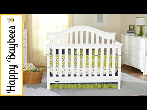 GRACO BRYSON 4-IN-1 CONVERTIBLE CRIB REVIEW | HAPPY BAYBEES