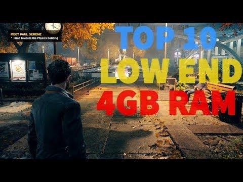 8gb ram pc games list
