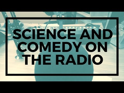 Comedy and Science on Radio Adelaide's Science Show - Subatomic