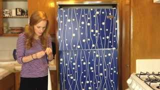 BWG Ep 18: DIY Removable Wallpaper for the Fridge
