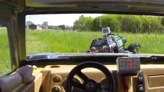 Welcome To The Jungle  FPV  Traxxas Summit  Hummer H2