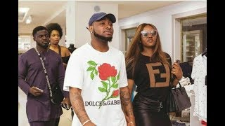 So Romantic Davido Storm Fela Shrine With His GF Chioma As He Sings For Her At Felabration 2018