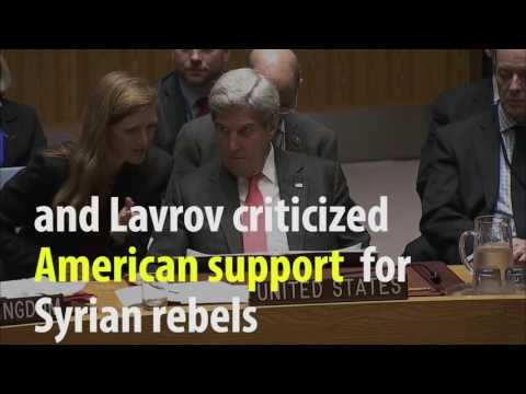 Kerry Says Russia's Lavrov Living In 'Parallel Universe' On Syria