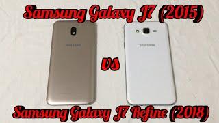 Samsung J7 Refine (2018) vs Samsung J7 (2015) Is Newer Really Better???