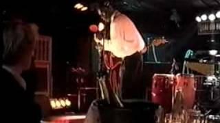 Mississippi Saxophone Charlie Sayles and Tony Fazio at Quai Du Blues in Paris