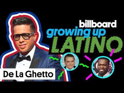 De La Ghetto's Love for 50 Cent & Don Francisco | Growing Up Latino