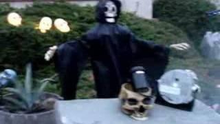 Halloween 2007 Yard Decoration