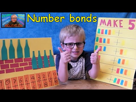 How to Master Number Bonds - Creative Maths | Kids Educational Videos