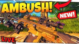*NEW* AMBUSH 2.0 GAMEMODE is GARBAGE! | CoD Blackout Livestream! thumbnail