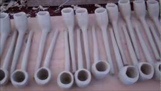 Irish Clay Pipe Making, County Roscommon, Ireland