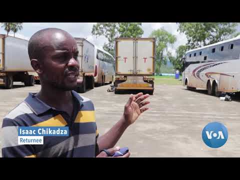 Malawian Migrant Workers, Back Home From South Africa, Riot