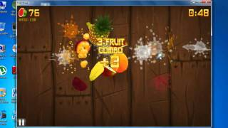 Fruit Ninja HD for PC - Gameplay