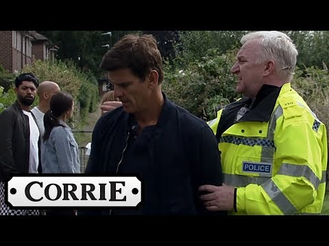 Robert Is Arrest While On a Suspended Sentence - Coronation Street