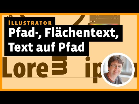 Illustrator: Pfadtext, Flächentext, Text Auf Pfad, Touch-Type