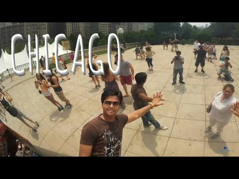 🇺🇸 CHICAGO DOWNTOWN   DRIVE feat. Gino's East