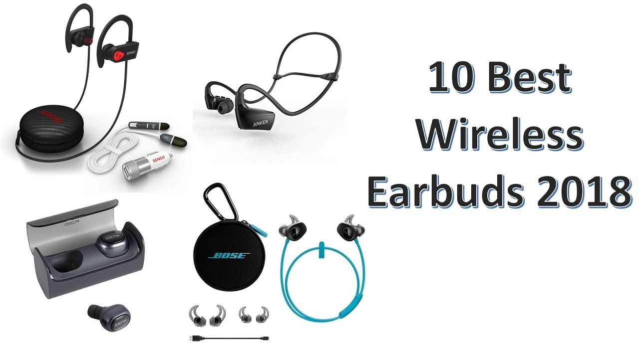 6c52168c6e9 10 Best Wireless Earbuds 2018 You can Buy on Amazon - YouTube