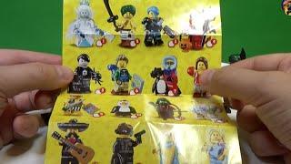 ★★★ LEGO 16 серия минифигурок ОБЗОР ВСЕХ 16 ★★★(Уже поступили в продажу в