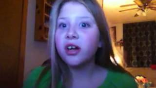 Breanna singing Kesha cannibal