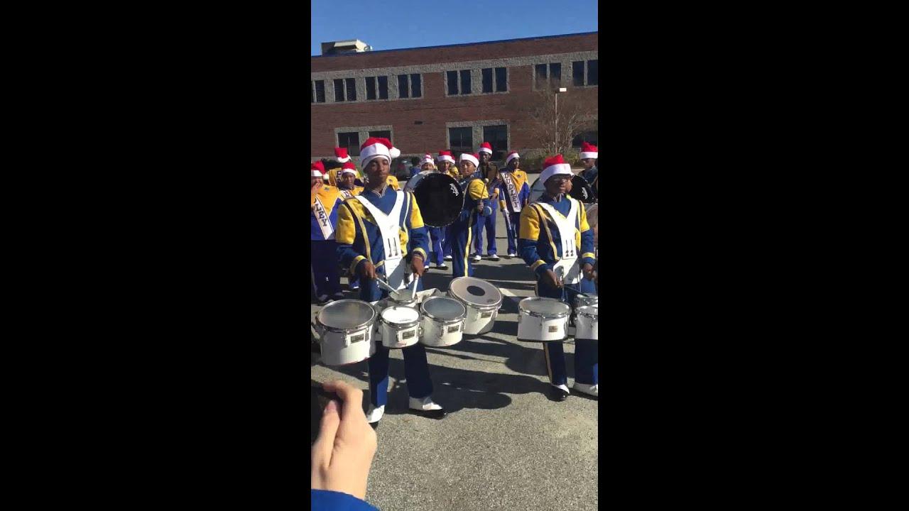 Dudley drumline vs Eastern drumline 2015 Greensboro Christmas ...