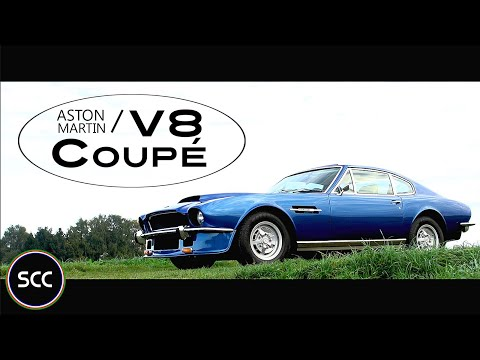 ASTON MARTIN V8 Coupé - Full test drive in top gear - Engine sound | SCC TV