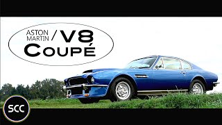 ASTON MARTIN V8 Coupé - Test drive in top gear - Engine sound | SCC TV