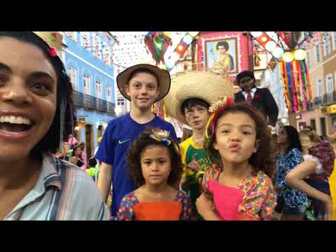 Festa Junina in the Streets of Brazil