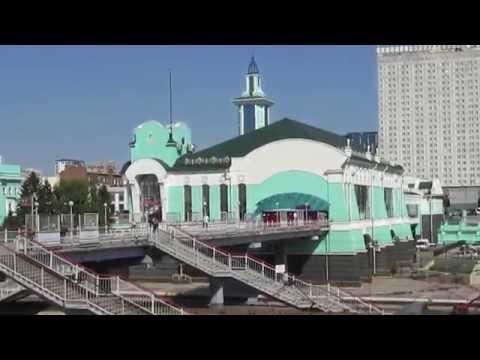 Novosibirsk railway station, Siberia (Russian Federation)