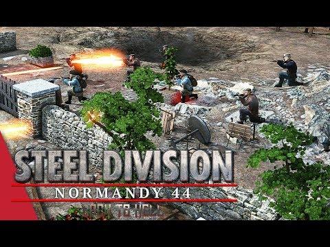 3rd APT Round 4 LB! Steel Division: Normandy 44 - Tarsh IV vs AmberT (Pegasus Bridge, 1v1)
