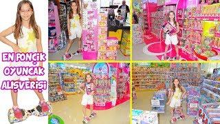 EN PONÇİK OYUNCAK ALIŞVERİŞİ Barbie Gardırobu Karaoke Mikrofon ve Diğerleri Eğlenceli Çocuk Videosu