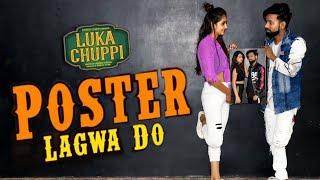 Poster Lagwa Do DANCE COVER Luka Chuppi | Kartik Aaryan, Kriti Sanon | Mika Singh , DEEPAK KAPOOR