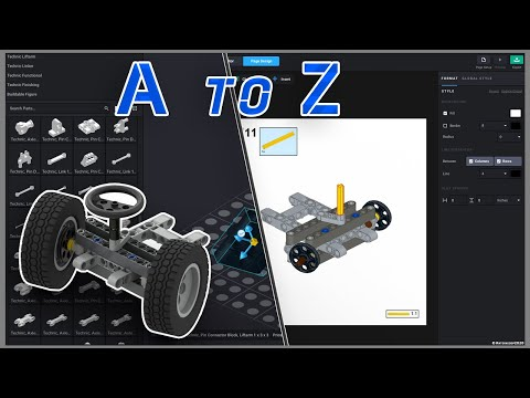 BrickLink Studio2.0 Tutorial - How To Use It From A To Z
